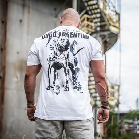 "Koszulka ""Dogo Argentino"" tył"