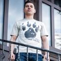 "Koszulka męska - ""Łapa - inspired by Dogo Argentino"""
