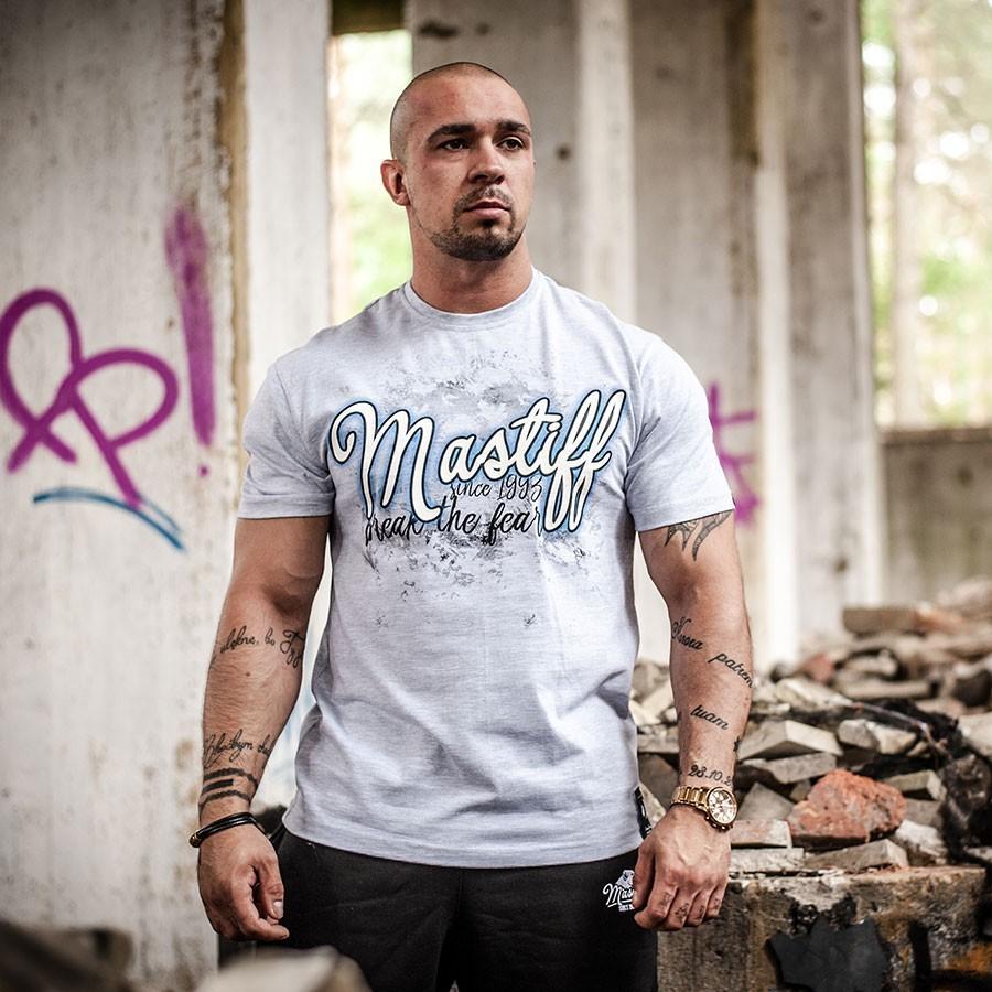 Koszulka męska Corsario - kolor melanż