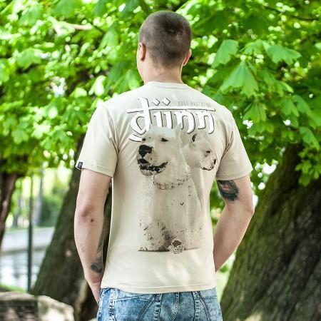 "Koszulka męska ""Djinn"" w kolorze pustynnego piasku"