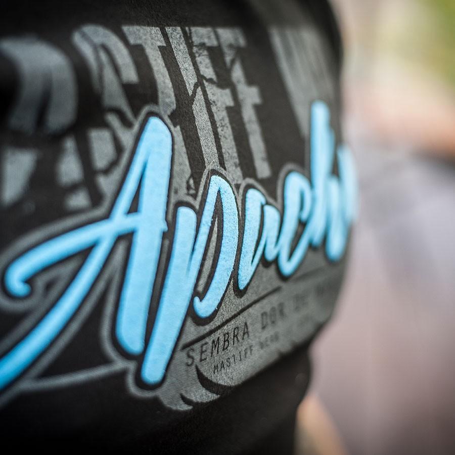 "Koszulka męska ""APACHE"" - wypukły napis"