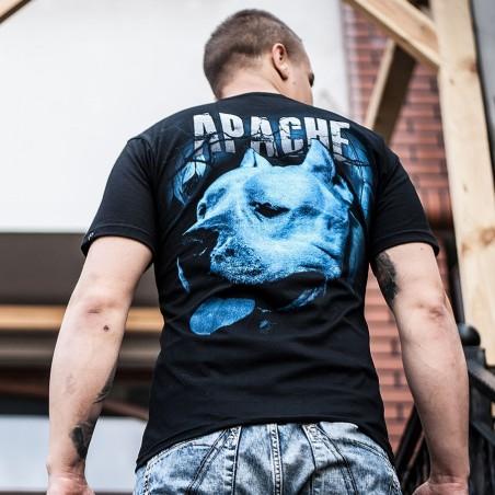 "Koszulka męska ""APACHE"" - tył"